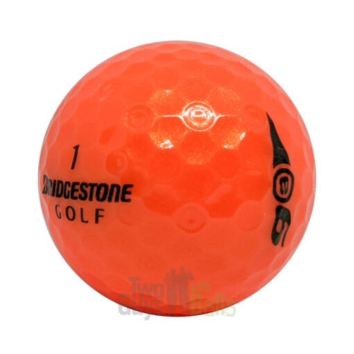 bridgestone e6 orange used golf balls