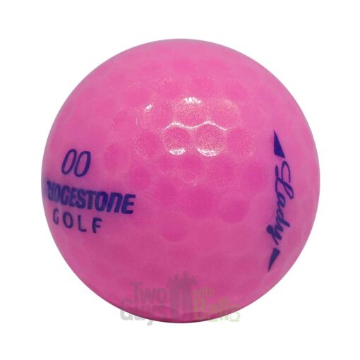 Bridgestone Lady Precept Pink used golf balls