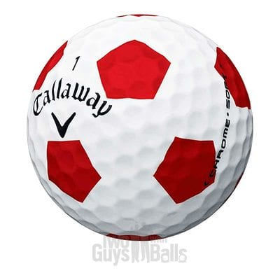 callaway chrome soft truvis used golf balls
