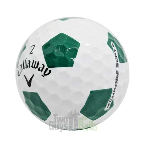 callaway chrome soft truvis green used golf balls