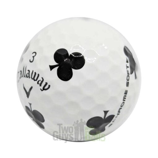 callaway chrome soft truvis suits clubs used golf balls
