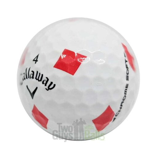 callaway chrome soft truvis suits diamonds used golf balls