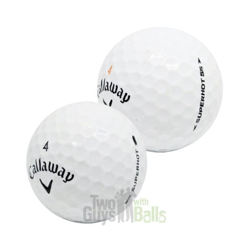 callaway superhot used golf balls