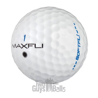 used maxfli softfli golf balls