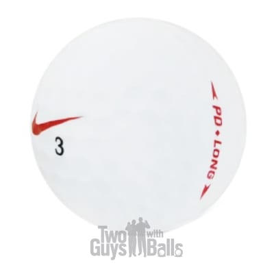nike pd long used golf balls
