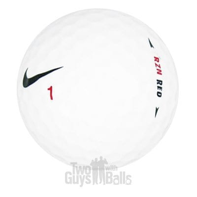 Nike RZN Red Used Golf Balls