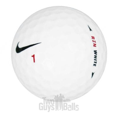 Nike RZN White Used Golf Balls
