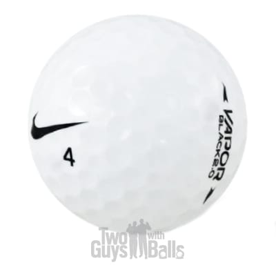 nike vapor black used golf balls