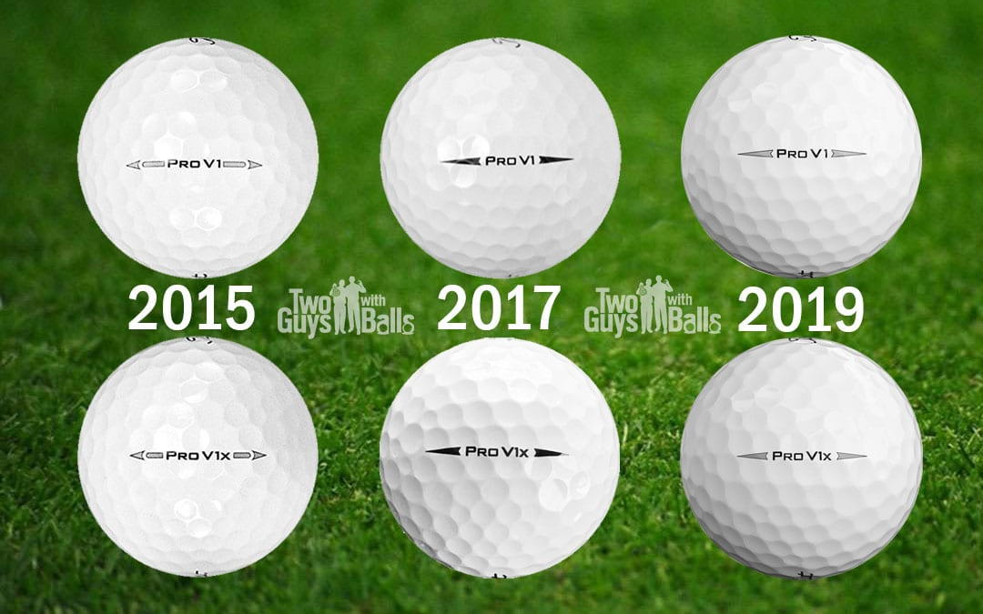 Titleist Pro V1 2019 vs 2017 vs 2015 – What's the difference?