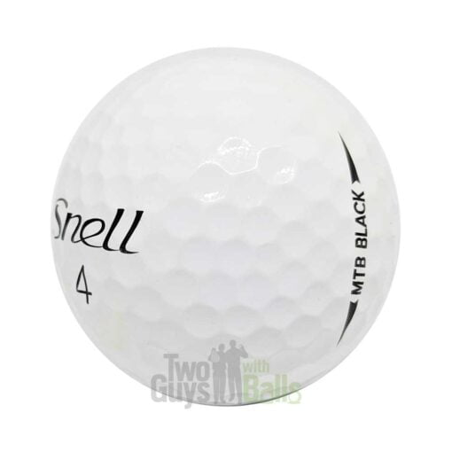 snell mtb black used golf balls
