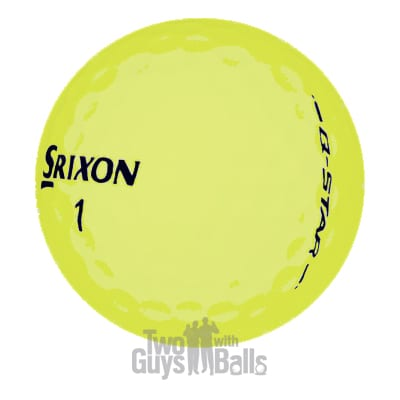 srixon q star yellow used golf balls