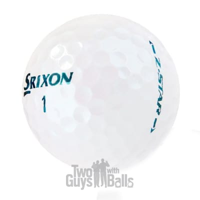 srixon z star kelly green used golf balls