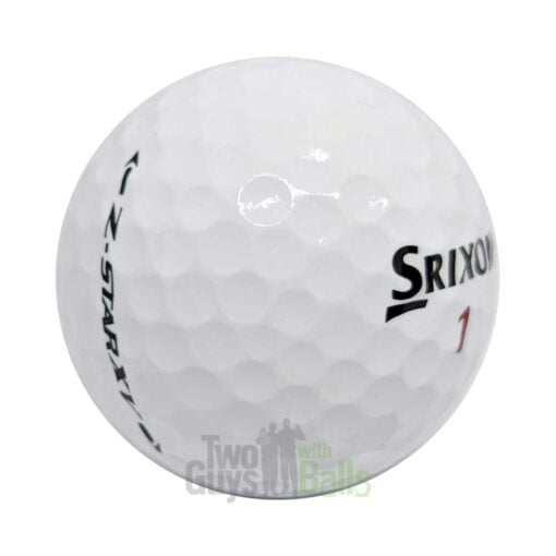 srixon z star xv used golf balls