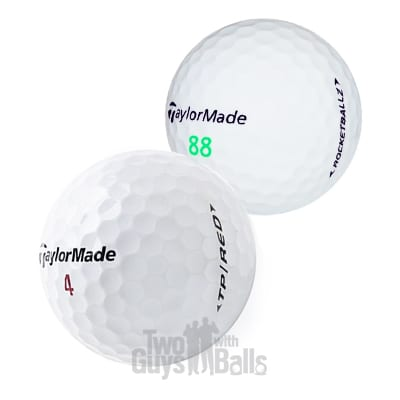 taylormade used golf balls mix