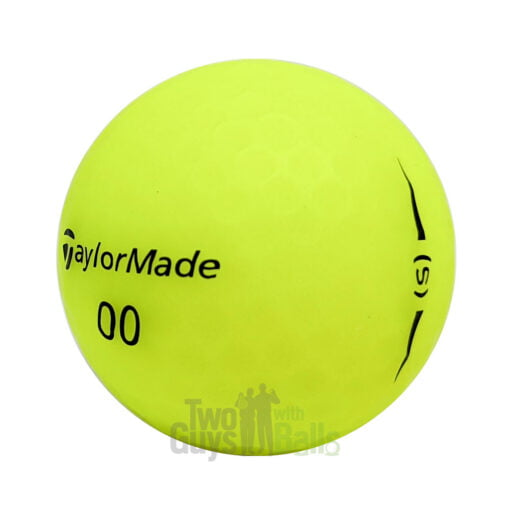 taylormade project s yellow used golf balls