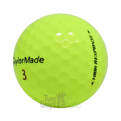 taylormade tour response yellow used golf balls