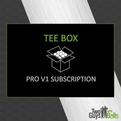titleist pro v1 subscription box
