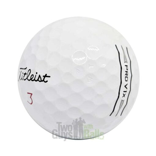 titleist prov1x enhanced alignment used golf balls