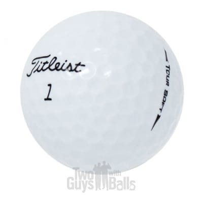 Titleist Tour Soft used golf balls