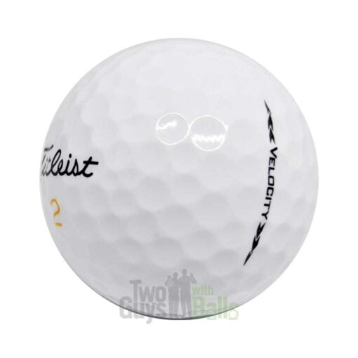 titleist velocity used golf balls
