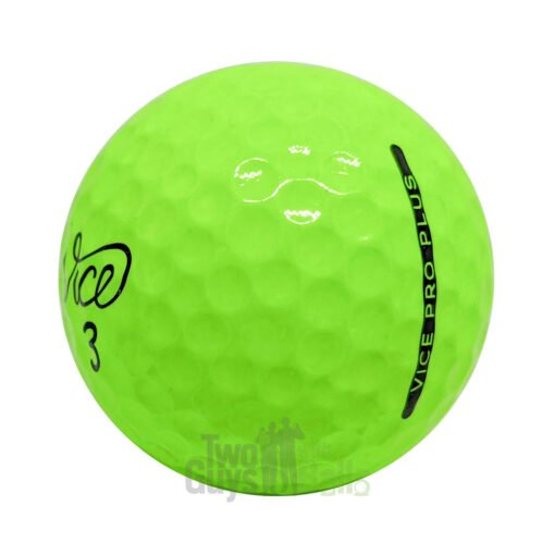 vice pro plus lime used golf balls