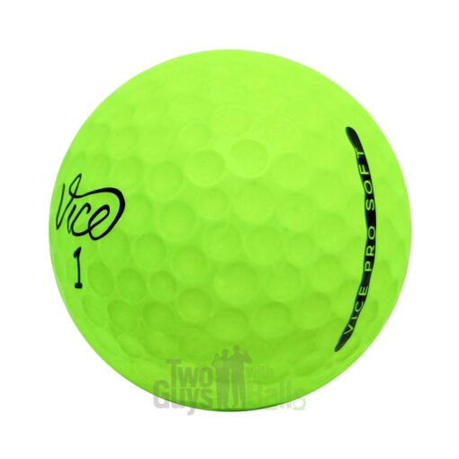 vice pro soft lime used golf balls