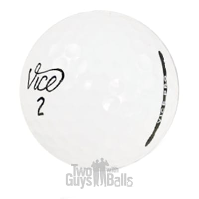 vice pro used golf balls
